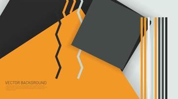 abstrakt vektor memphis bakgrund, geometriska element. designmönster med överlappande former.