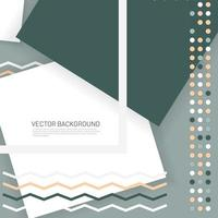 abstrakter Vektor Memphis Hintergrund, geometrische Elemente. Designmuster mit überlappenden Formen.