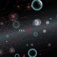 Hintergrund des abstrakten Schaltungsdesigns vektor