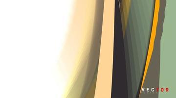 abstrakt vektor bakgrund. koncept form böjda mönster. färgglad tonad konsistens.