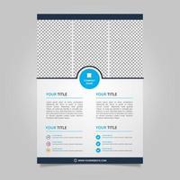 Vektor abstrakte Broschüre Vorlage Design