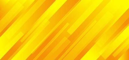 abstrakta geometriska gula och orange diagonala linjer bakgrund. vektor