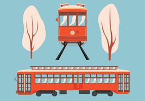 New Orleans Streetcar-Vektor-Design vektor