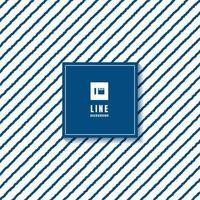abstrakt mönster blå hand dras grova linjer diagonalt på vit bakgrund. vektor