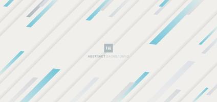 abstraktes blaues Streifendiagonalmuster auf weißem Hintergrund. vektor