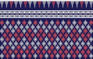 abstrakt etnisk geometrisk etnisk mönster traditionell design för en bakgrund vektor