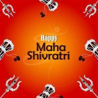 kreativ illustration av Lord Shiva för Mahashivratri