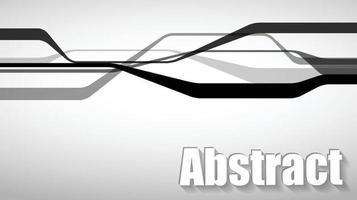 abstrakt bild inspirerad av formen på vägar, trafik och anslutningar. vektor