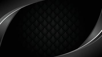 Hintergrundbild eines schwarzen Diamanten, der wiederholt in Mustern angeordnet ist. vektor