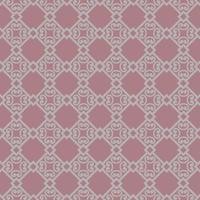abstrakte Blumenverzierung. nahtloses geometrisches Muster mit Wirbellinienverzierung im orientalischen Stil. vektor