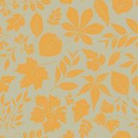 Herbstblätter nahtloses Muster vektor