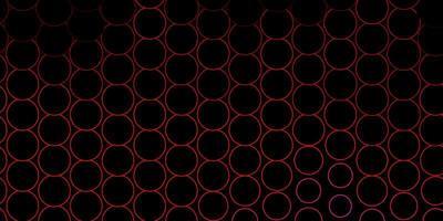 dunkelrosa Vektorhintergrund mit Flecken.