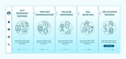 Smartboard Healthcare bietet Onboarding-Vektor-Vorlage
