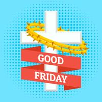 God fredag bakgrund vektor
