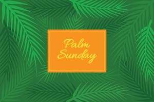 Palmsonntag Hintergrund