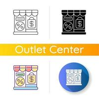 Outlet Store Symbol