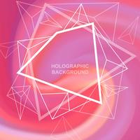 Holografisk bakgrund vektor