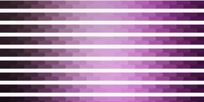 hellviolettes Vektorlayout mit Linien. vektor