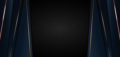 abstrakt banner webbmall mörkblå lyx premium bakgrund