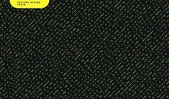 abstrakt gult rundad form diagonalt mönster på svart bakgrund vektor