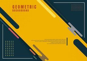 abstrakter geometrischer Hintergrund der Schablonenpräsentation