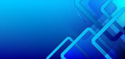 abstrakter minimaler Stil blauer Farbverlaufhintergrund