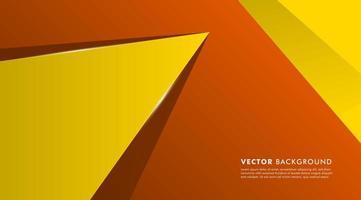 överlappande geometriska former bakgrund vektor