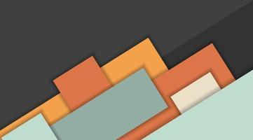 geometrische Formen des abstrakten Entwurfsmusters des Vektorhintergrunds vektor