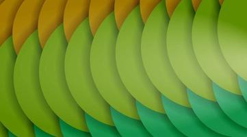 abstrakter Vektorhintergrundentwurf mit überlappenden Musterformen