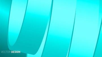 abstrakt geometrisk vektor bakgrund. överlappande och glänsande 3d-former.