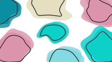 zeitgenössische abstrakte Kunst von Flüssigkeiten und Linien. für Ihren Designhintergrund.