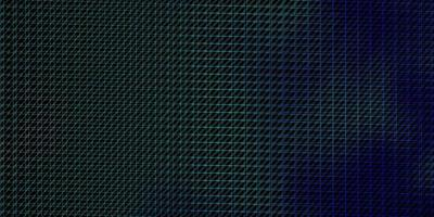 mörkblå, grönt vektormönster med linjer.