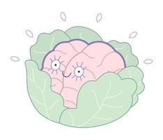 brandneue Gehirnkollektion vektor