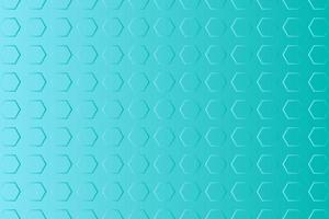 abstrakt blå sexkantig bakgrund vektor