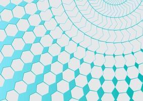 abstrakt hexagon former bakgrund vektor