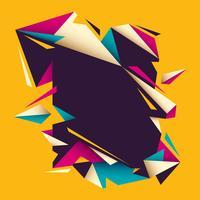 geometrisches Banner vektor
