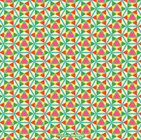 Nahtloser Kaleidoskop-Muster-Vektor vektor