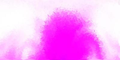 ljus lila, rosa vektor gradient polygon design.