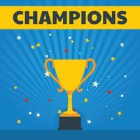 Champions-Vektor-Banner vektor