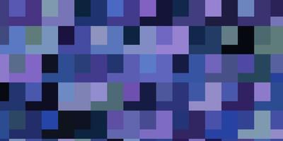 hellrosa, blauer Vektorhintergrund mit Rechtecken. vektor