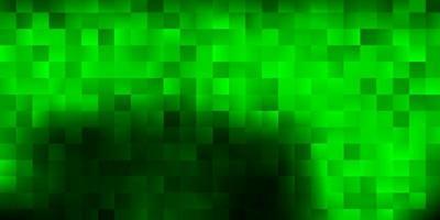 dunkelgrüner Vektorhintergrund im rechteckigen Stil. vektor