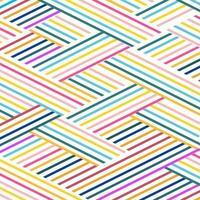 Farbige Linienkombination des abstrakten Hintergrunds vektor