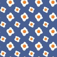 Hintergrund des Frühstückskochmusters vektor