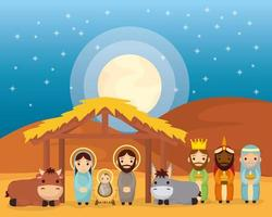 Offenbarung der Jesus-Szene