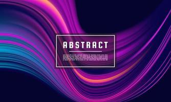 mörk lila abstrakt geometrisk mall vektor