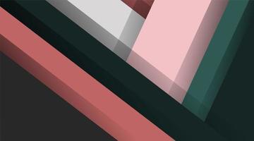 moderner Materialdesignhintergrund des abstrakten Vektors. überlappende Formen