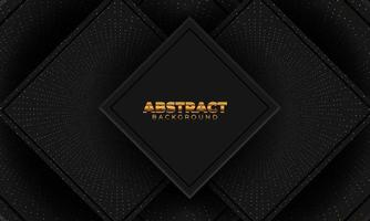 abstrakter Hintergrund mit geometrischen Formen. Dekorationselement für Poster- oder Cover-Design. Vektorillustration