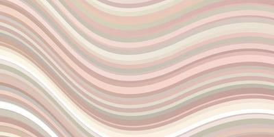 hellorange Vektor Textur mit trockenen Linien.