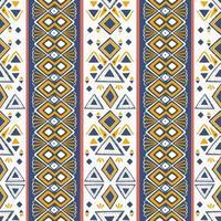 stam mönster vektor. sömlös etnisk handgjord, handritad med ränder illustration. vektor