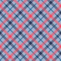 Tattersall Material Farbe nahtloses Vektormuster vektor